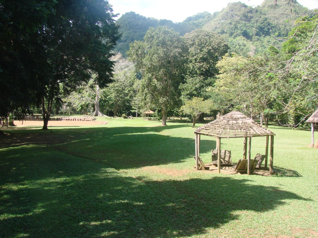 View of the Caguana Indigenous Ceremonial Park