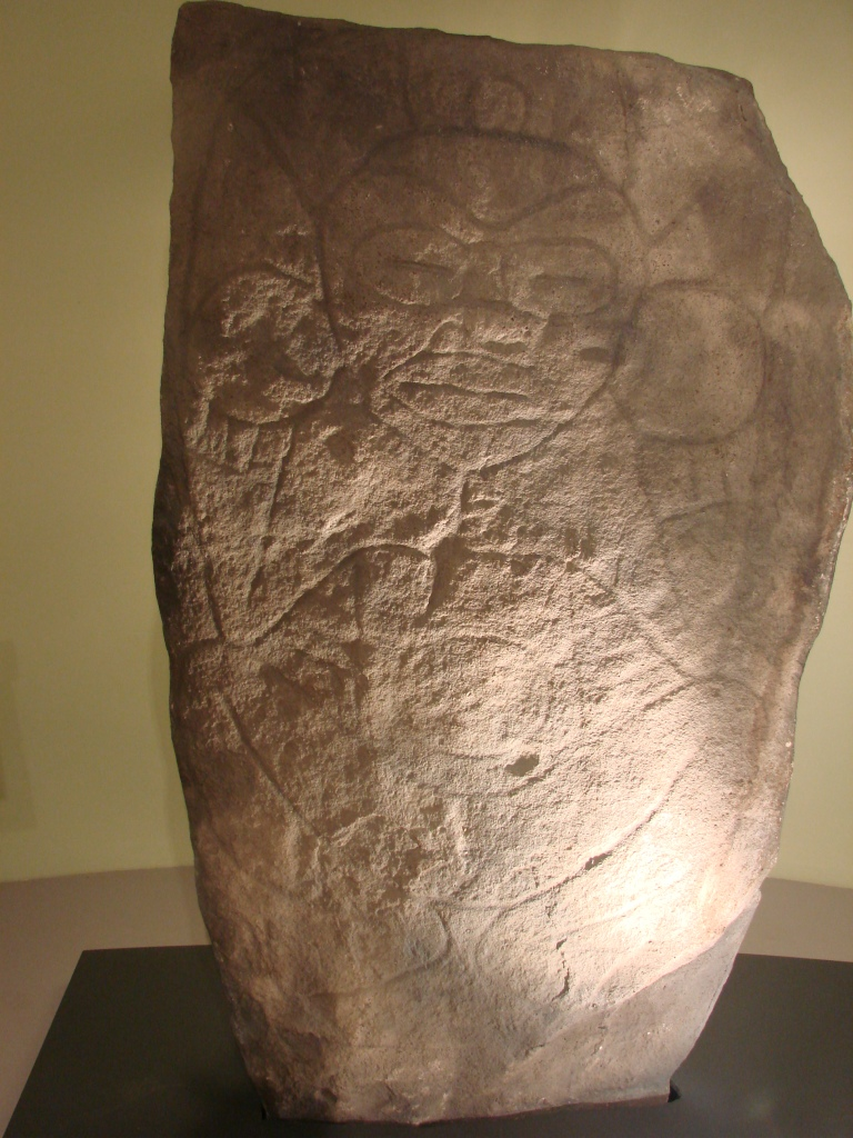 petroglyph of a woman figure