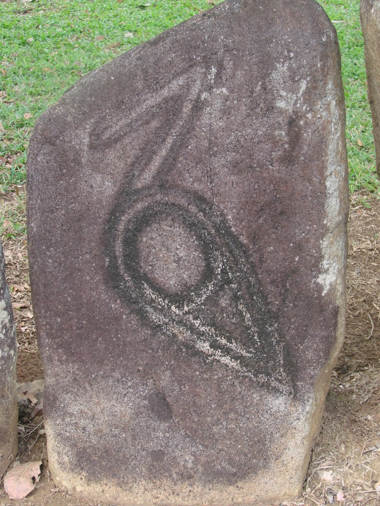 petroglyph depicting a bird
