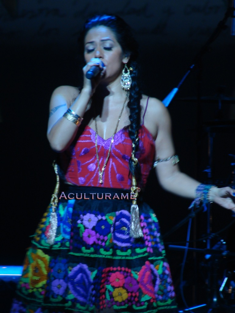 Lila Downs performing live on Sunday May 5 2013
