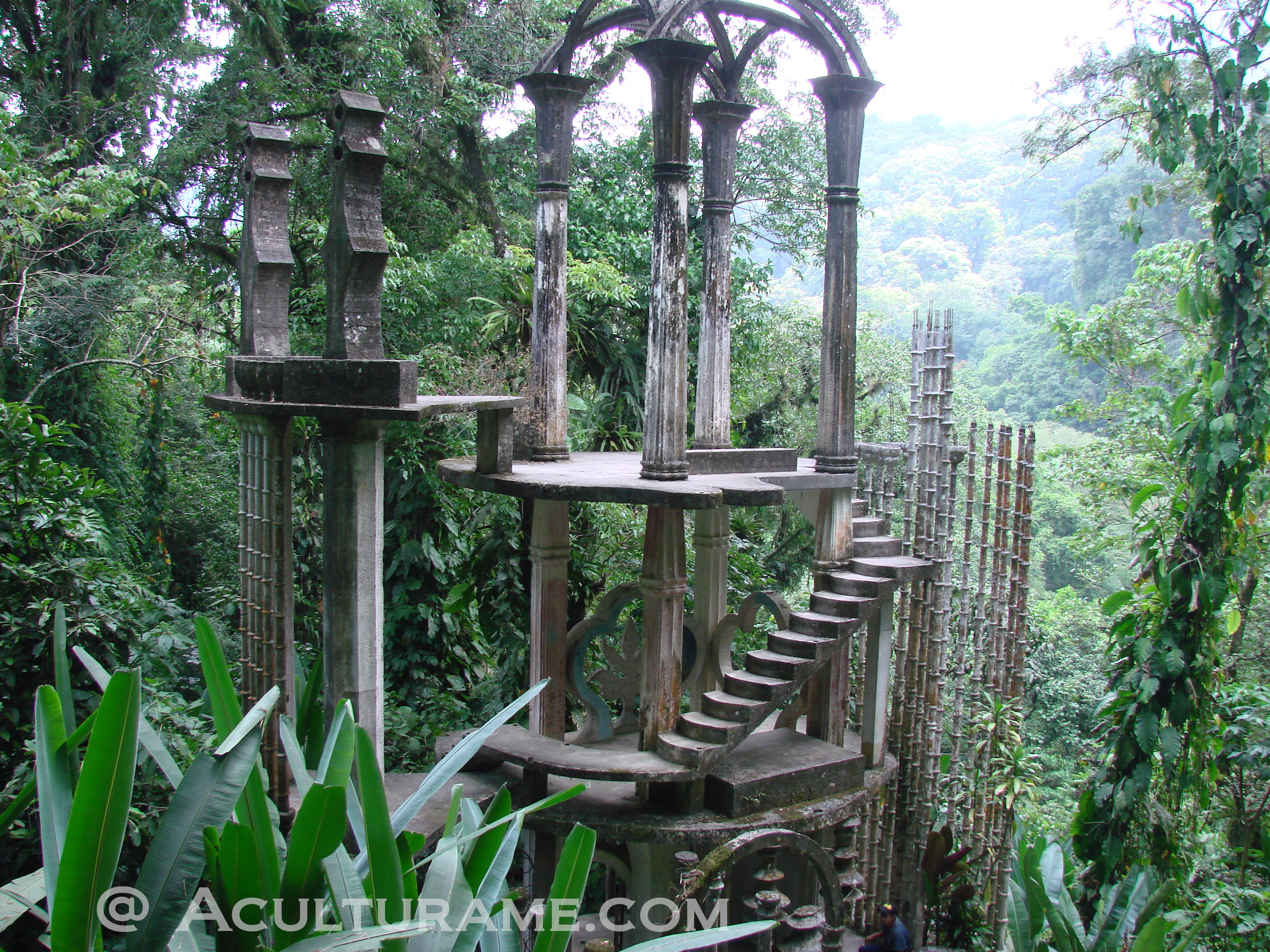 Xilitla beyond edward james aculturame for Caracoles en el jardin