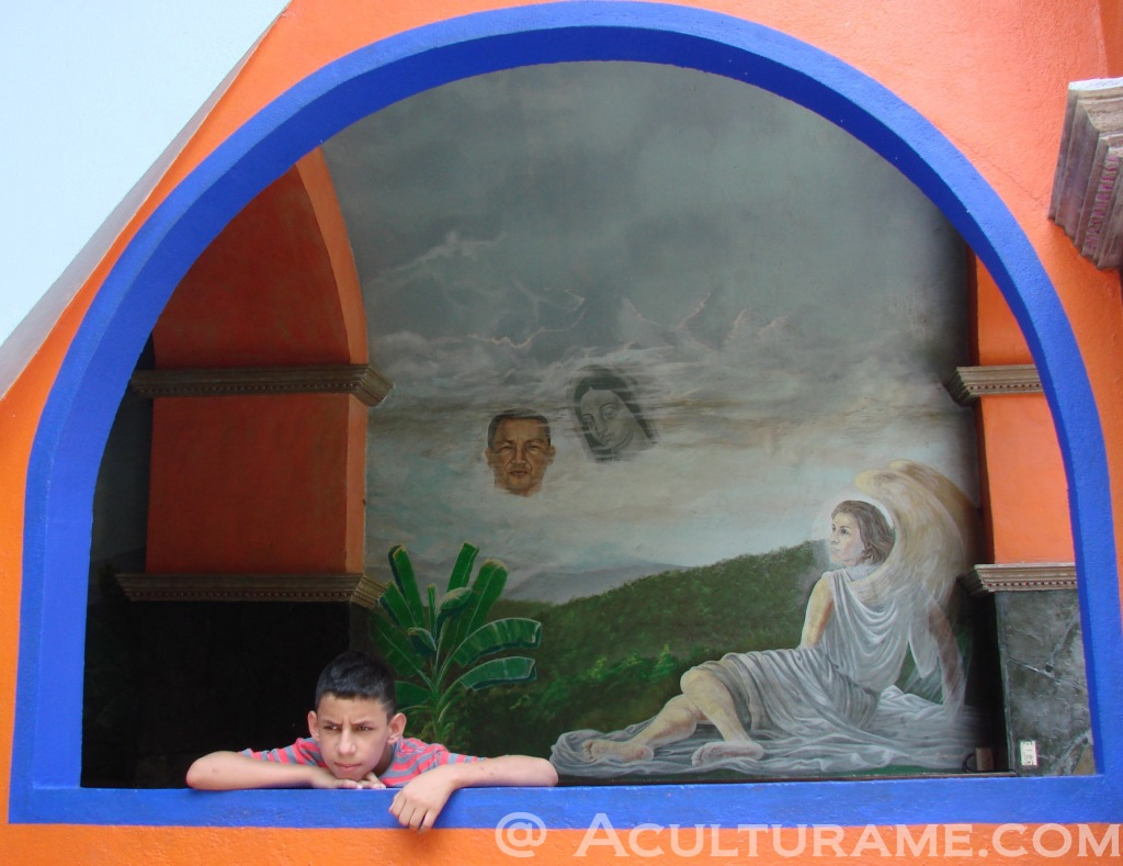 Xilitlan Boy Reflectimg