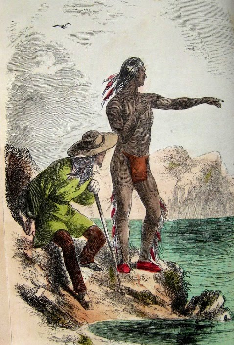 Squanto Serving as a Guide to the Colonist