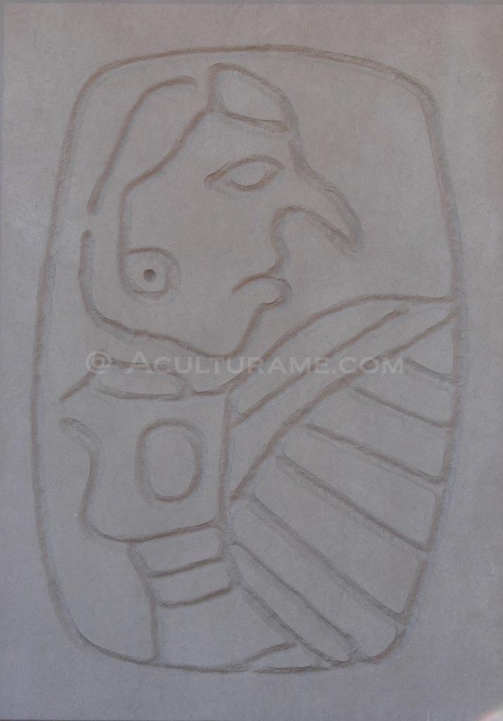 Cahokia Birdman Tablet found in 1971 at Monks Mound