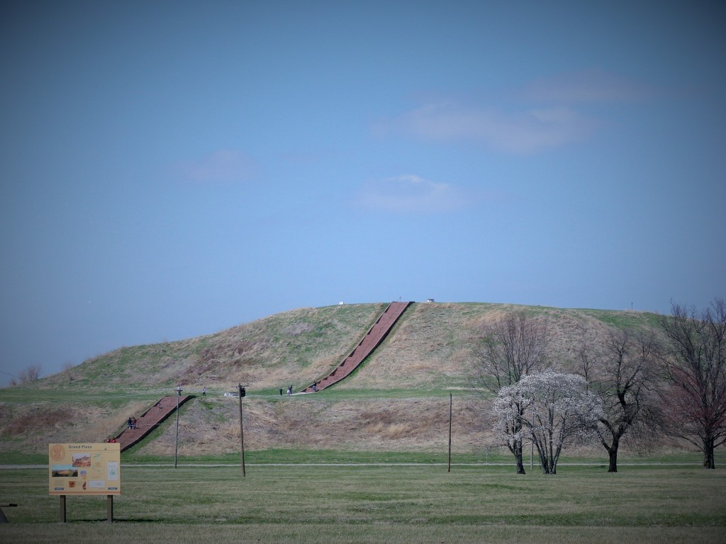 View of Monk's Mound