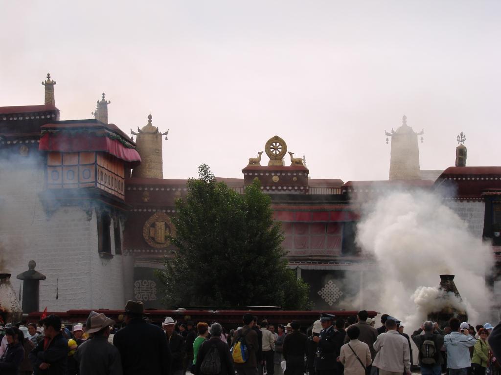 downtown Lhasa, Tibet