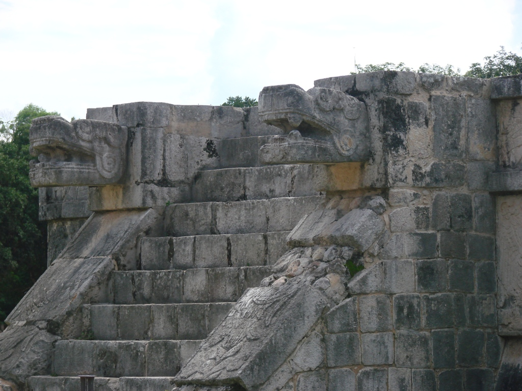The Platform of the Eagles and Jaguars