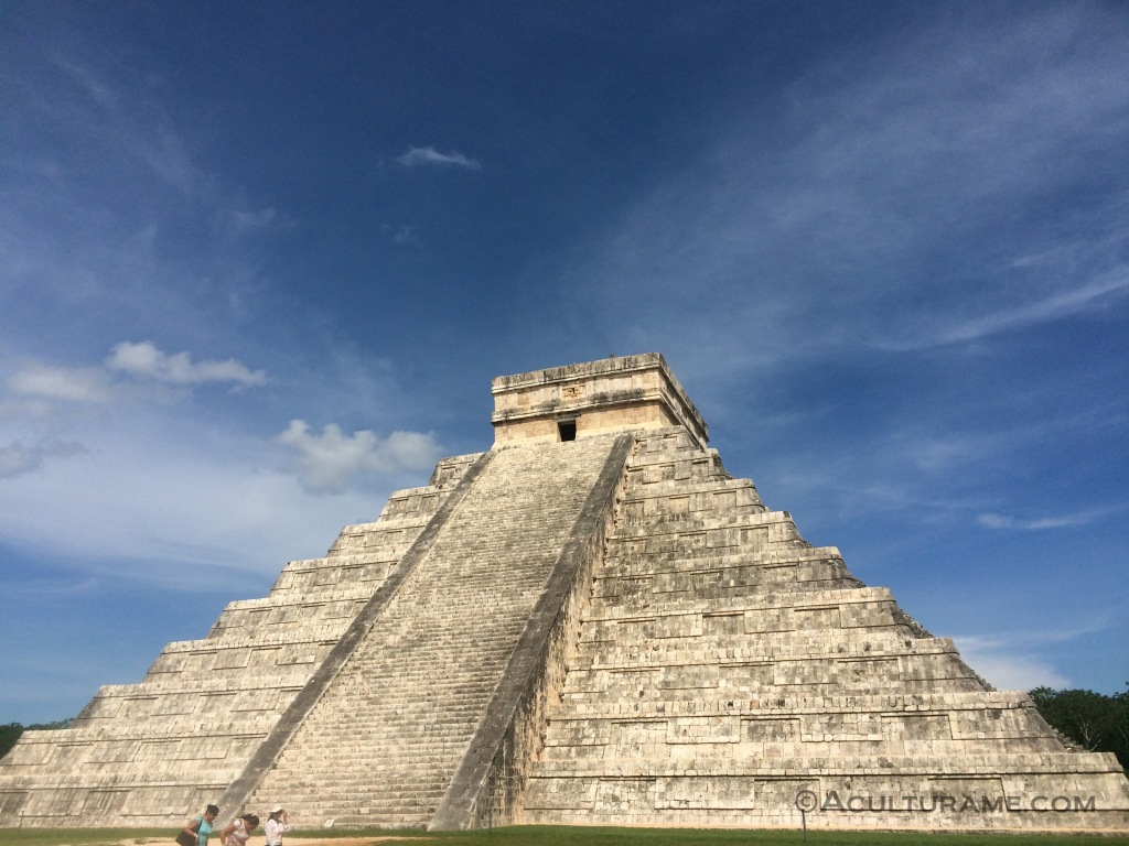 Kukulcán pyramid or El Castillo in Chichén Itzá