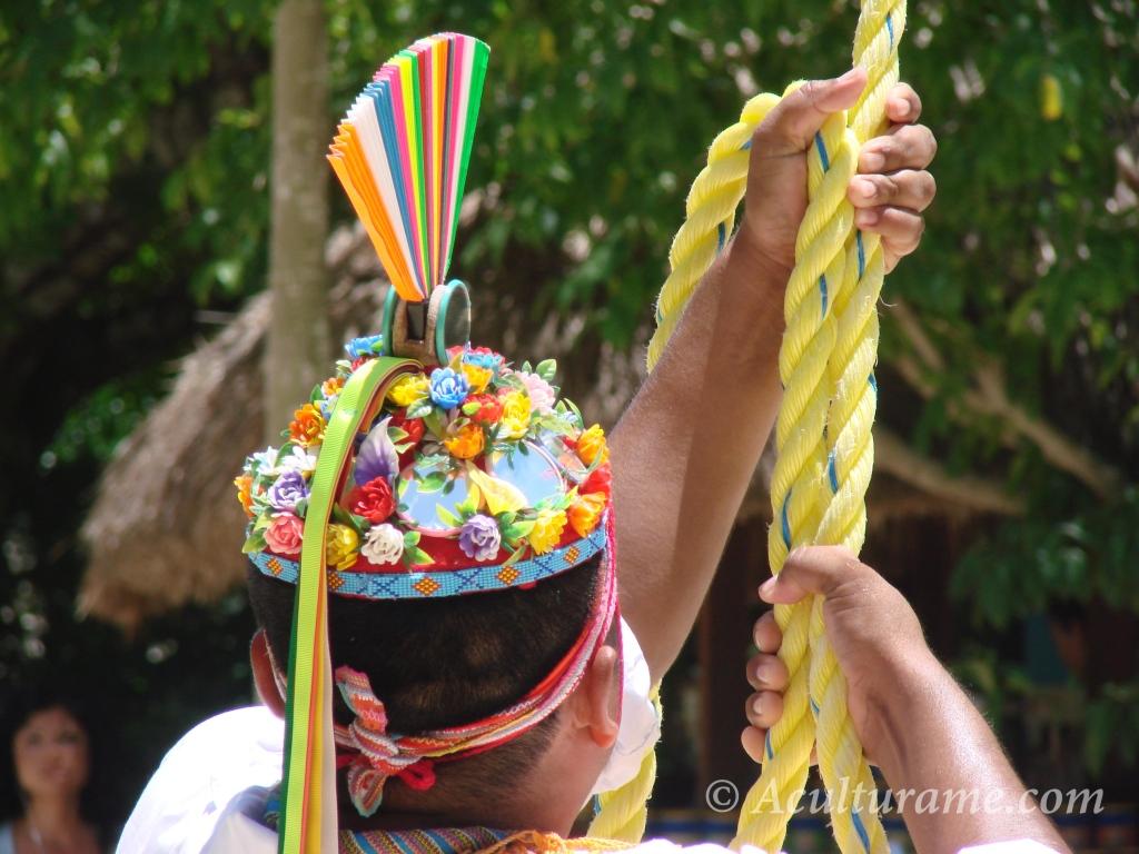 Every piece of regalia the Birdmen wear resemble a colorful bird