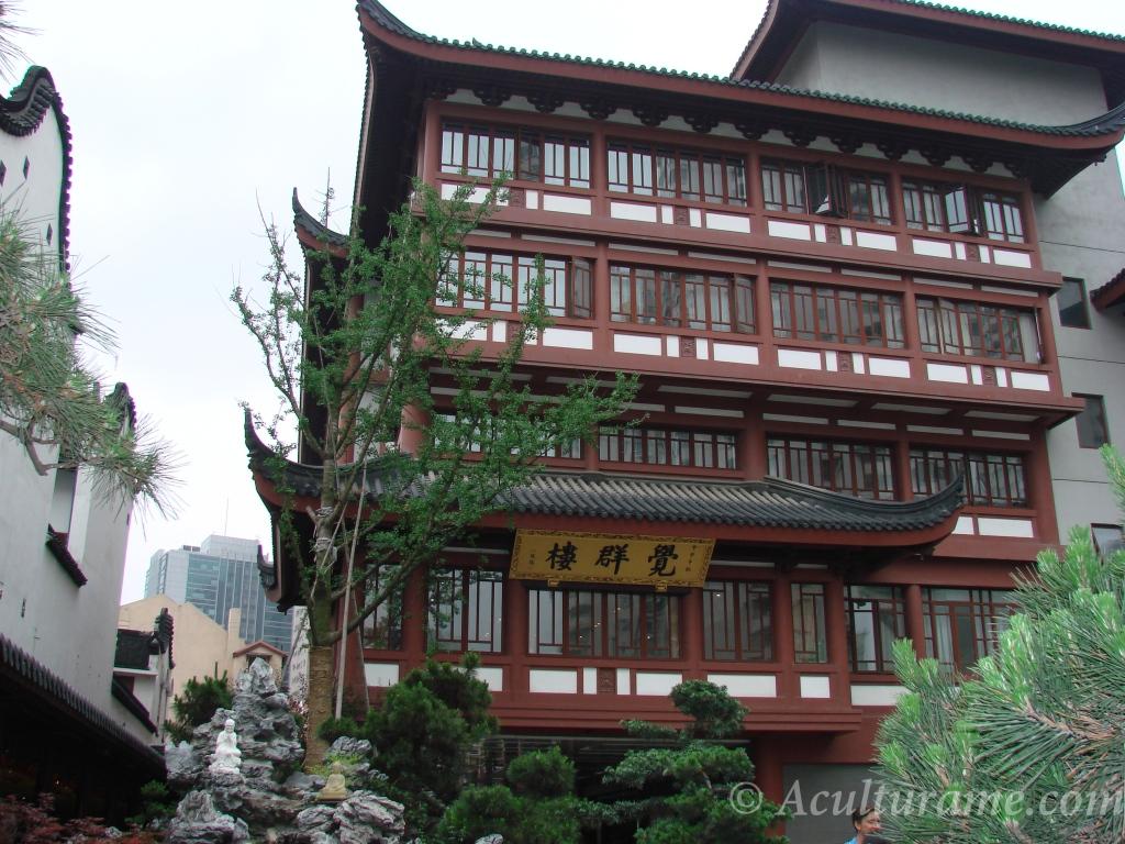 Jade Buddha Temple architecture